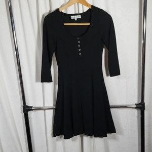 Almost Famous black sweater dress